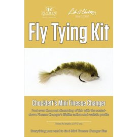 Flymen Fly Tying Kit-Chocklett's Mini Finesse Changer