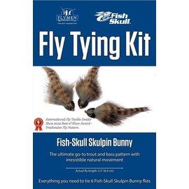 Flymen Fly Tying Kit-Fish Skull Skulpin Bunny