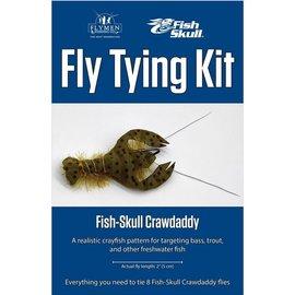Flymen Fly Tying Kit-Fish Skull Crawdaddy