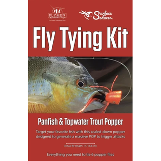 Panfish & Topwater Trout Popper Fly Tying Kit