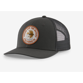 Take a Stand Trucker Hat - Forge Grey w/Stand for the Waters