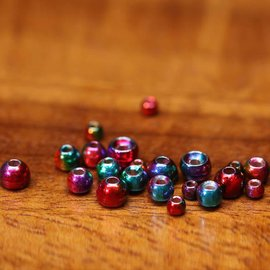 Plummeting Tungsten Beads - Rainbow Hued