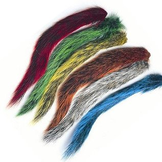 Dyed Gray Squirrel Tails