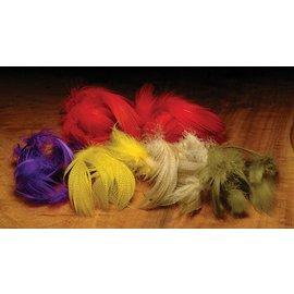 Dyed Mallard Flank Feathers
