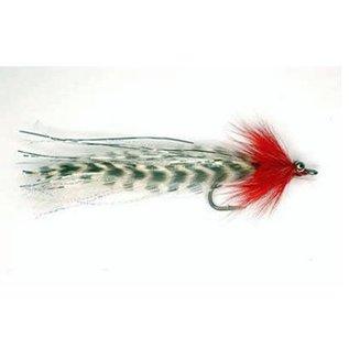 FLASHTAIL WHISTLER RED/WHT 3/0