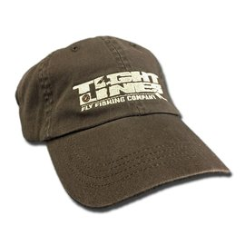 TIGHT LINES HAT BROWN WITH KHAKI LOGO