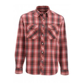 SIMMS Gallatin Flannel - Garnet Plaid