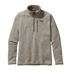 PATAGONIA Better Sweater 1/4 Zip Bleached Stone