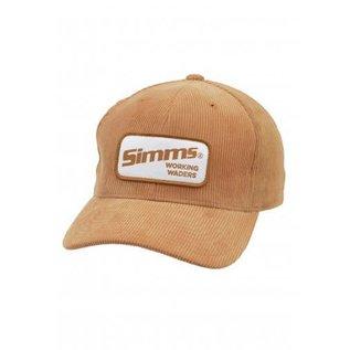 SIMMS Corduroy Classic Baseball Cap - Acorn