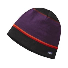 Beanie Hat Coastline Stripe: Black ALL