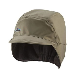 Water-Resistant Shelled Synchilla Cap - Light Bog L/XL