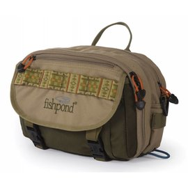 Blue River Chest/Lumbar Pack - Khaki/Sage Green
