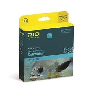 RIO Rio Tropical General Purpose Saltwater Floating Line - Aqua/Sand