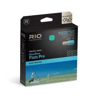 Rio DirectCore Flats Pro Lines - Aqua/Orange/Sand