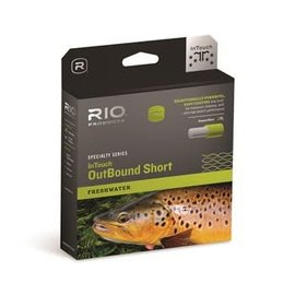 RIO Rio InTouch Outbound Short Floating/Sink 1 - Olive/Yellow