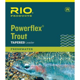 RIO 9' Rio Powerflex Trout Leaders