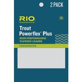 RIO 9' Rio Powerflex Plus Leader 2 Pack