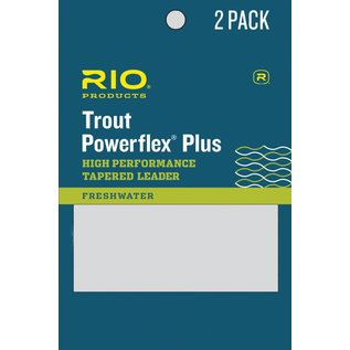 9' Rio Powerflex Plus Leader 2 Pack