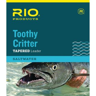 RIO TOOTHY CRITTER Leader  7.5' 30LB CLASS 30LB STAINLESS WIRE WITH SNAP