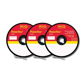 RIO POWERFLEX TIPPET 3PACK 4X-6X