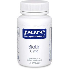 Pure Encapsulations Biotin 8mg 120 caps