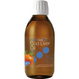 NutraSea Cod Liver Oil (900mg) Tangerine Flavour 200ml