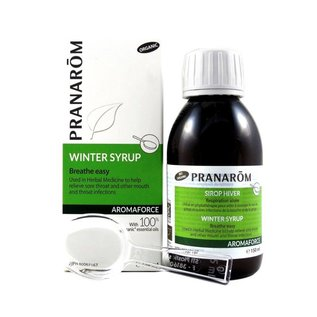 Pranarom Winter Syrup with propolis 150ml