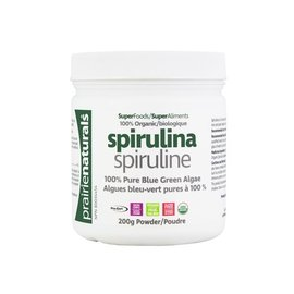 Prairie Naturals Spirulina 200g powder