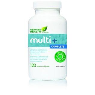 Genuine Health High-Potency Multi 60 tablets