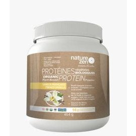 Nature Zen Protein Powder French Vanilla 454g