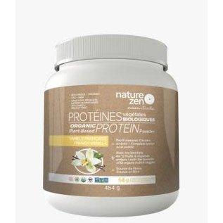 Nature Zen Protein Powder French Vanilla 454g