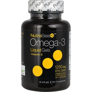 NutraSea Omega 3 with D 1250mg