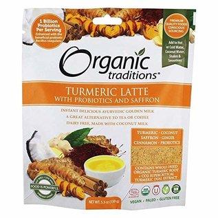 Organic Traditions Latte - Turmeric with probiotics 150g