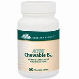 Genestra Active Chewable B12 Genestra -60caps