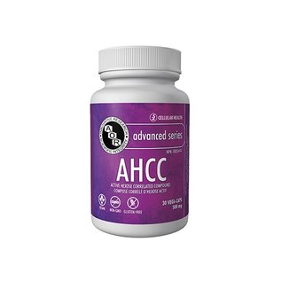 AOR AHCC 500mg Active hexose correlated compound 30vcaps