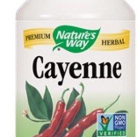 Nature's Way Cayenne 40000H.U 100 capsules 450mg