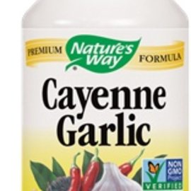 Nature's Way Cayenne and Garlic 100 capsules 530mg