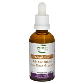 St. Francis ClearGlow Skin conditions Nettle combo 50ml