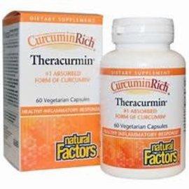 Natural Factors CurcuminRich Theracurmin 60/VCAP