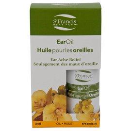 St. Francis Ear Oil for ear ache relief