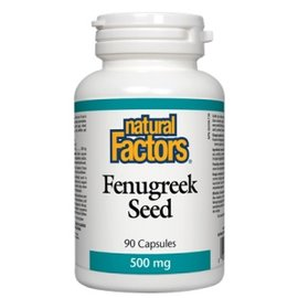 Natural Factors Fenugreek Seed 500 mg 90/CAP