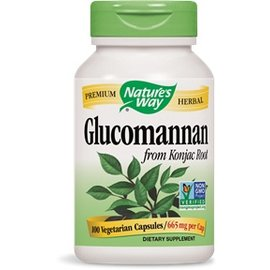 Nature's Way Glucomannan 100 capsules 665mg