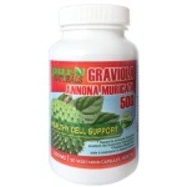Pur Naturals Graviola 90 vegetarian capsules 500mg