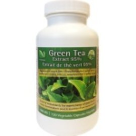 Pur Naturals Green Tea Extract 95% 500mg 120 VCaps