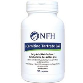 NFH L-Carnitine Tartrate SAP 90caps