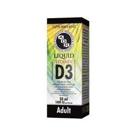 AOR Liquid Vitamin D3 1000IU 50ml Adult