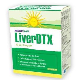 Renew Life Liver DTX 30 day program