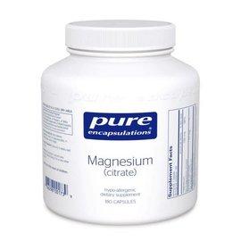 Pure Encapsulations magnesium (citrate) 180 vcaps
