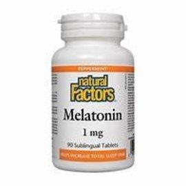 Natural Factors Melatonin 1mg 90's