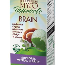 Host Defense Myco Botanicals Brain 60vcaps